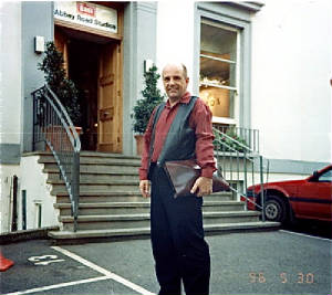 Mark Wirtz at EMI Studios, 1996