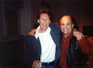 Mark Wirtz and Keith West at EMI, 1996
