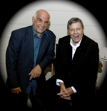Mark Wirtz and Jerry Lewis, 2009
